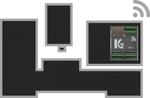 K2 sensor on a cnc